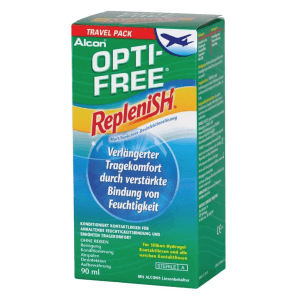 OPTI-FREE Replenish Disinfectant Solution Travel Pack (90ml)