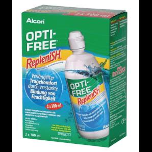OPTI-FREE Replenish Desinfektionslösung Doppelpack (2x300ml)