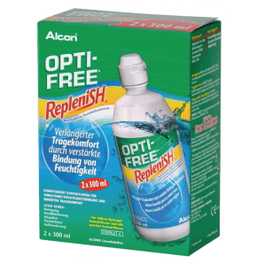OPTI-FREE Replenish Disinfectant Solution Twin Pack (2x300ml)