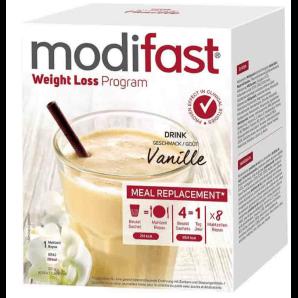 modifast Weight Loss Programm Drink Vanille (8x55g)