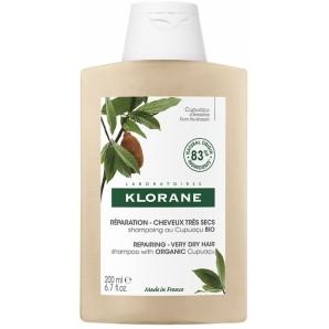 KLORANE Cupuaçu REPAIRING Bio Shampoo Für Sehr Trockenes Haar (200ml)