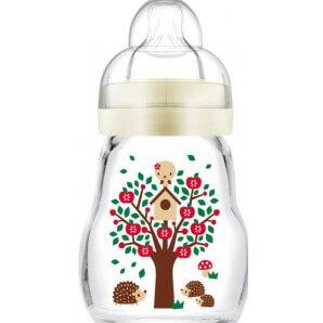 MAM Feel Good Glass Bottle 170ml 0+m (1 pc)