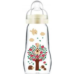 MAM Feel Good Glass Bottle 260ml 2+m (1 pc)
