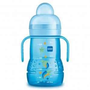 MAM Trainer Bottle With Handle 4+M 220ml Boy (1 pc)