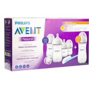 Philips Avent Natural Neugeborenen Starterset + Flasche 330ml (1 Stk)