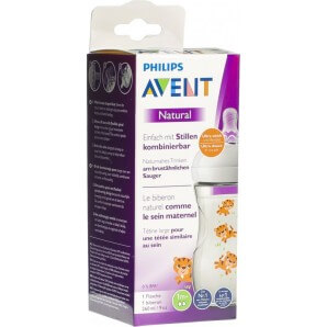 Philips Avent Natural Bottle 260ml Tiger (1 pc)