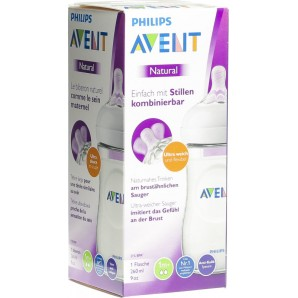 Philips Avent Natural Flasche 260ml (1 Stk)