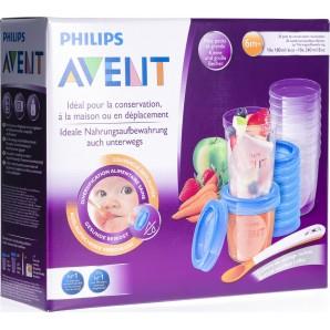 Philips Avent VIA Nahrungsaufbewahrung Set (1 Stk)