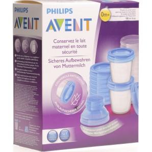 Philips Avent VIA Muttermilch Aufbewahrungsbecher Set (1 Stk)