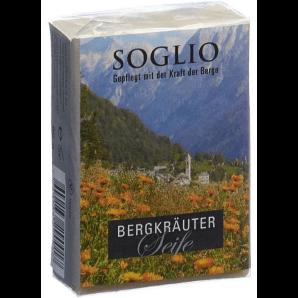 SOGLIO Bergkräuter-Seife (95g)