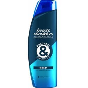 head&shoulders ENERGY Shower Gel & Shampoo (225ml)