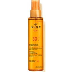 NUXE SUN TANNING OIL SPF30 Face & Body (150ml)