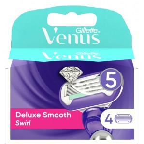 Gillette Venus Deluxe Smooth Swirl Klingen (4 Stk)