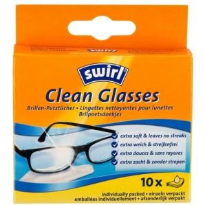 Swirl Clean Glasses Brillen-Putztücher (10 Stk)