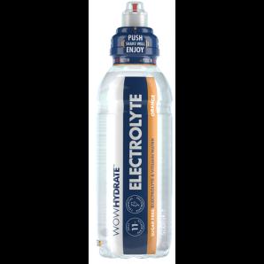 WOW HYDRATE Electrolyte & Vitamin Wasser Orange (500ml)