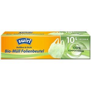 Swirl Bio-Müll Folienbeutel 10 Liter (10 Stk)