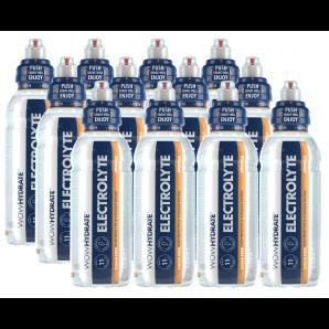 WOW HYDRATE Electrolyte & Vitamin Wasser Orange (12x500ml)
