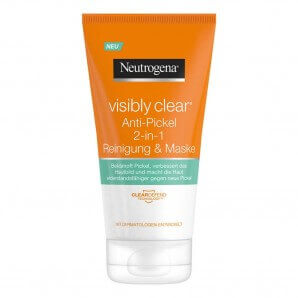 Neutrogena Visibly Clear 2in1 cleansing mask (150ml)