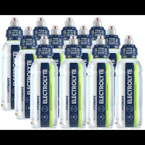 WOW HYDRATE Electrolyte & Vitamin Wasser Lemon / Lime (12x500ml)