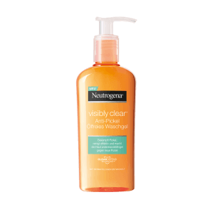 Neutrogena Visibly Clear Anti-pimple oil-free wash gel (200ml)
