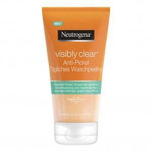 Neutrogena Visibly Clear Anti bouton peeling de lavage quotidien (150ml)