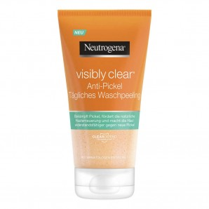 Neutrogena Visibly Clear Anti-Pickel Tägliches Waschpeeling (150ml)