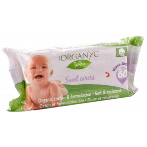 ORGANYC Baby Feuchttücher (60 Stk)