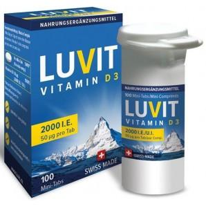 LUVIT VITAMIN D3 Mini Tabs...