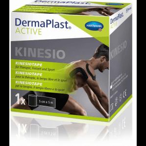 DermaPlast Active Kinesiotape schwarz (5cm x 5m)