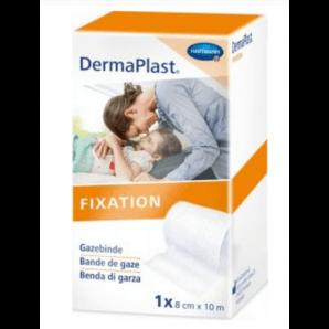 Dermaplast Bandage de gaze à bord solide 8cmx10m (1 pc)