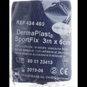 DermaPlast SportFix 6cmx4m blau (1 Stk)