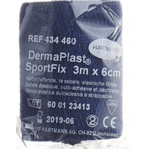 Dermaplast SportFix 6cmx4m blue (1 pc)
