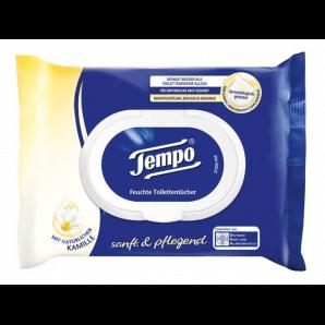 Tempo Papiers hygiéniques humides doux et soignants (42 pcs)