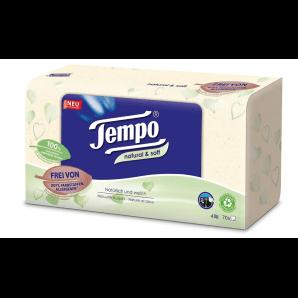Tempo Fazzoletti Natural & Soft Box (70 pz)