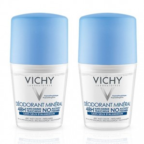 Vichy - Deo Mineral 48h Duo Roll-on (2 x 50ml)