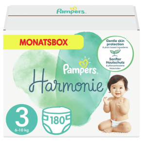 Pampers Harmonie G. r3 6-10kg Midi Monatsbox (180 Stk)