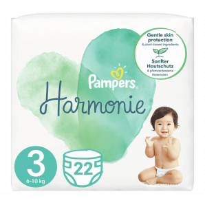 Pampers Harmonie size 3 6-10kg midi carry pack (22 pcs)