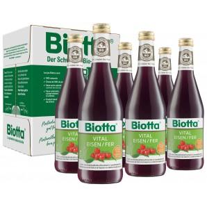 Biotta Bio Vital Eisen (6x5dl)
