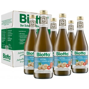 Biotta Vital Bio pommes de terre (6x5dl)