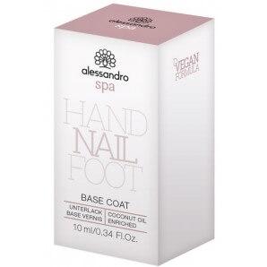 Alessandro Spa Hand Nail Foot BASE COAT (10ml)