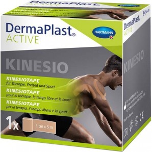 Dermaplast Active Kinesiotape 5cmx5m blue (1pc)