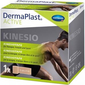 Dermaplast Kinesiotape actif 5cmx5m bleu (1pc)