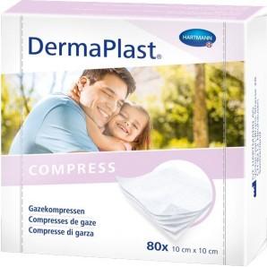 Dermaplast Gauze compress 10x10cm 80 pcs (1 pc)