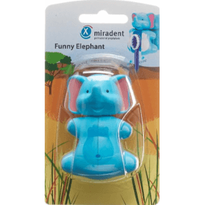 Miradent Funny Elephant toothbrush holder (1 pc)