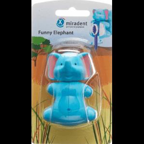 miradent Funny Elephant Zahnbürstenhalter (1 Stk)