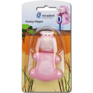 Miradent Funny Hippo Toothbrush Holder (1 pc)