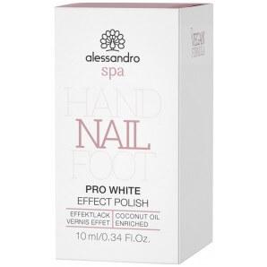 Alessandro Spa Hand Nail Foot EFFEKTLACK Pro White (10ml)