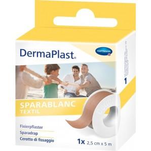 Dermaplast Sparablanc textile 2.5cmx5m skin coloured (1 pc)