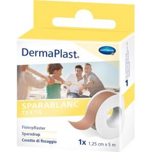 Dermaplast Sparablanc textile 1.25cmx5m couleur peau (1 pc)