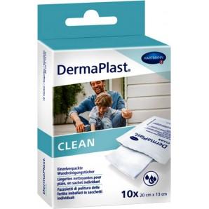 Dermaplast Lingettes nettoyantes pour les plaies (10 pièces)